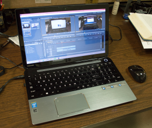 Toshiba S55t Laptop PC for video editing