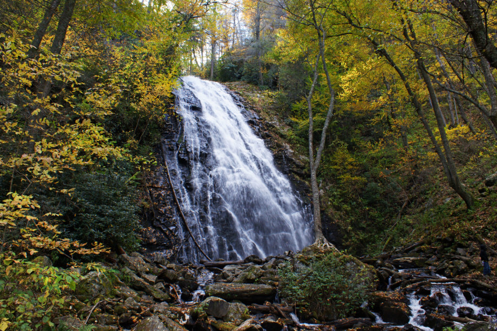 Crabtree Falls Classic Angle North Carolina
